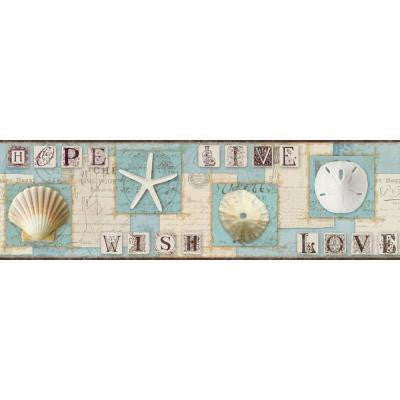9 in. Beach Journal Border