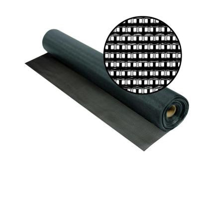 48 in. x 100 ft. Black SunTex 80