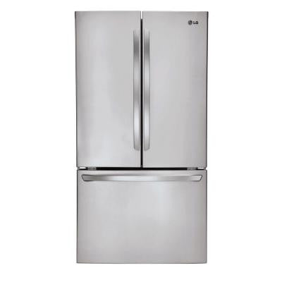 31 cu. ft. French Door Refrigerator in Stainless Steel