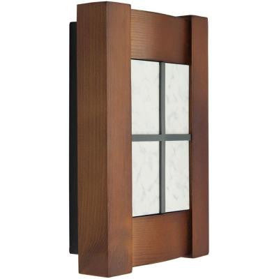 Designer Series Wired/Wireless Door Chime with Arts and Crafts Style Cover