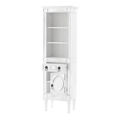 Reflections 20 in. W Empire Linen Cabinet in White