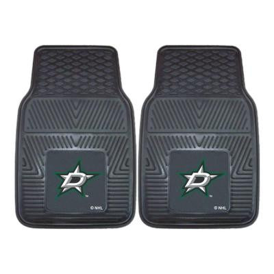 Dallas Stars 18 in. x 27 in. 2-Piece Heavy Duty Vinyl Car Mat