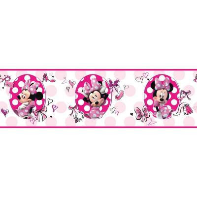 9 in. H Walt Disney Kids II Fashionista Minnie Border