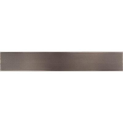 Urban Metals Bronze 2 in. x 12 in. Composite Spiral Border Trim Wall Tile