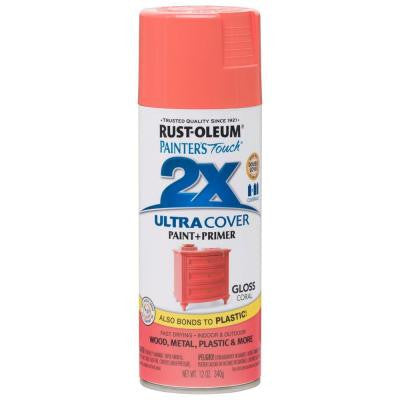 12 oz. Gloss Coral General Purpose Spray Paint