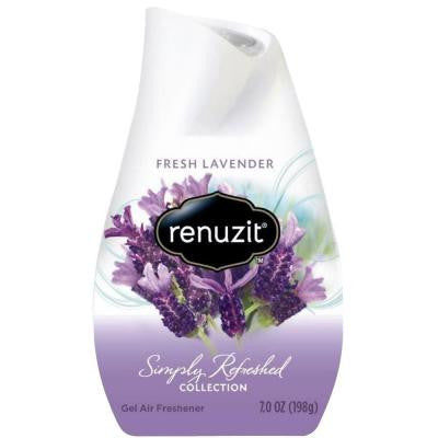 Simply Refreshed Collection 7 oz. Fresh Lavender Adjustable Gel Air Freshener