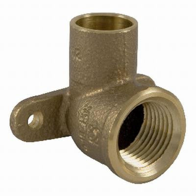 Lead-Free 1/2 in. Bronze Silicon Alloy Pressure 90-Degree C x FPT Elbow
