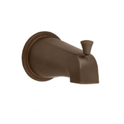 Portsmouth Slip-On Diverter Tub Spout in Oil-Rubbed Bronze
