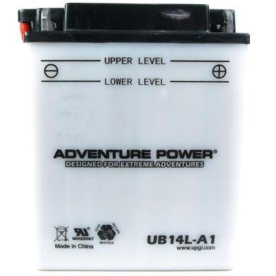 Conventional Wet Pack 12-Volt 14 Ah Capacity A Terminal Battery