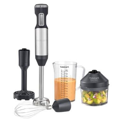 Smart Stick Variable Speed Hand Blender with Potato Masher in Stainless Steel