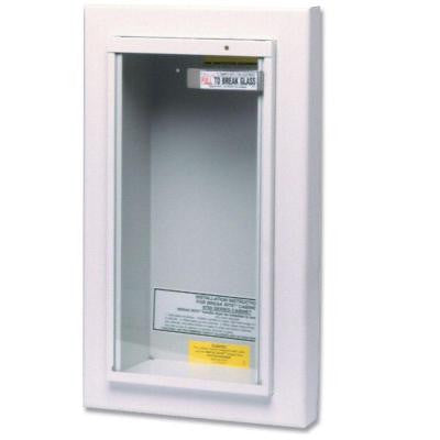 10 lbs. Semi-Recessed Fire Extinguisher Cabinet