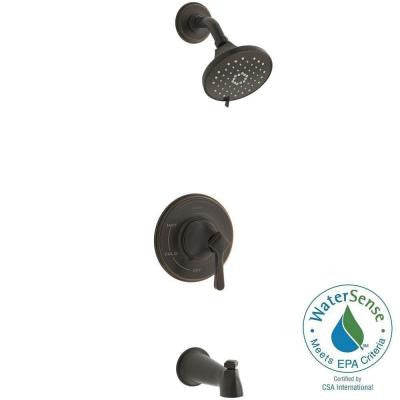 Georgeson 1-Handle Tub and Shower Faucet in Oil Rubbed Bronze