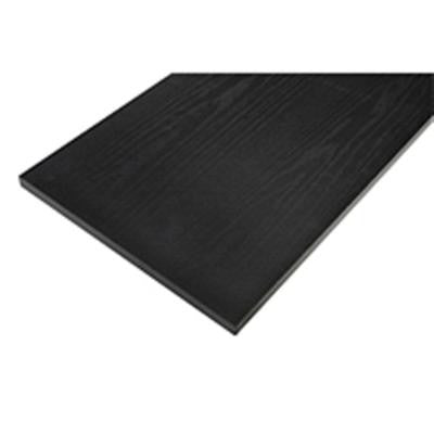 10 in. x 36 in. Black Board with Black Arch Bracket