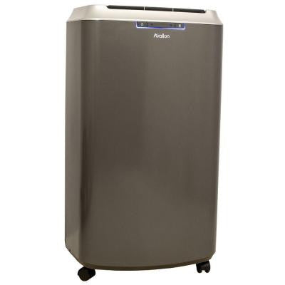 14,000 BTU Dual Hose Portable Air Conditioner with Cool and Heat, InvisiMist Smart Drain Technology