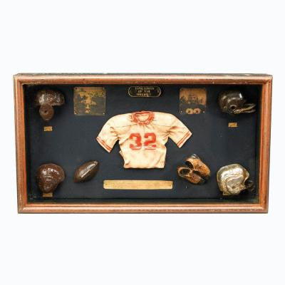 12 in. Football Shadow Box