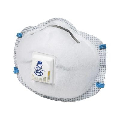 Paint Odor Valved Respirator (2-Pack)