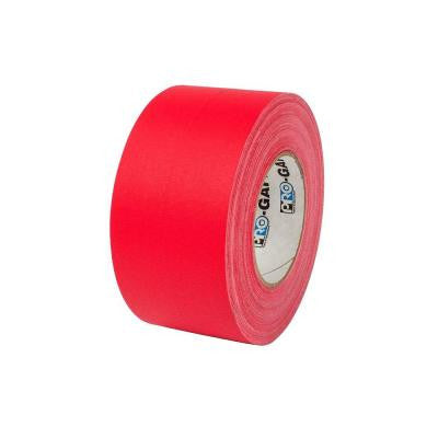3 in. x 55 yds. Red Gaffer Industrial Vinyl Cloth Tape (3-Pack)