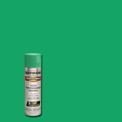 15 oz. Gloss Safety Green Spray Paint (Case of 6)