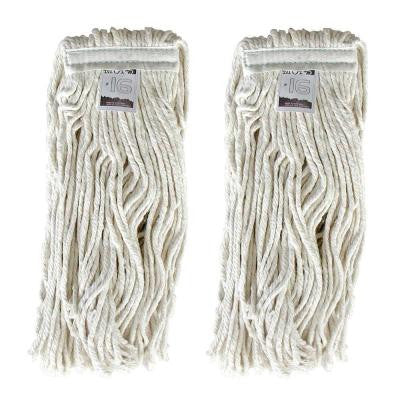#16, 4-Ply Cotton Mop Head with Cut-Ends (2-Pack)