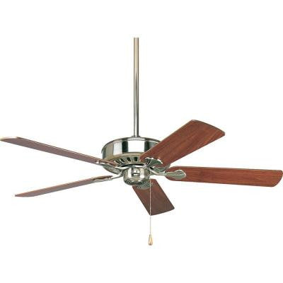 AirPro Performance 52 in. Brushed Nickel Ceiling Fan