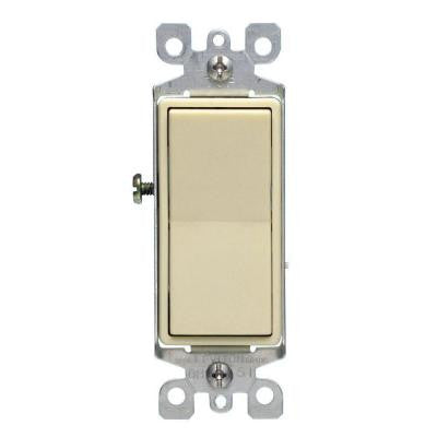 Decora 15 Amp 3-Way Switch - Ivory