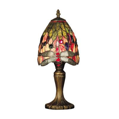 15 in. Vickers Antique Brass Table Lamp