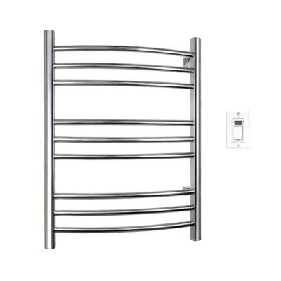 Riviera 32 in. Towel Warmer in Brushed Stainless Steel