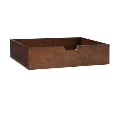 Craft Space 4 in. H Letter File Cubby Drawer in Sequoia