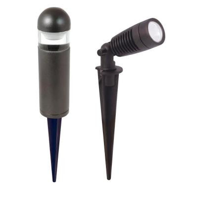LED Black Spots and Bollards Light Kit