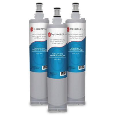 Whirlpool 4396508 Comparable Refrigerator Water Filter (3-Pack)