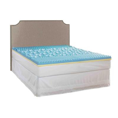 King Size 3 in. Gel Mattress Topper
