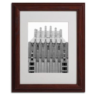 11 in. x 14 in. Building I Matted Framed Art