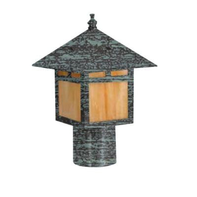 Centennial Outdoor LED Rubbed Verde Area Light