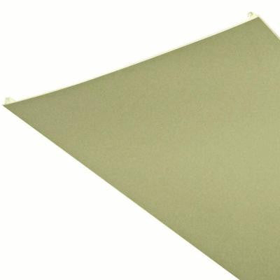 Serrated Beige 16 ft. x 1 ft. Lay-in Ceiling Panel