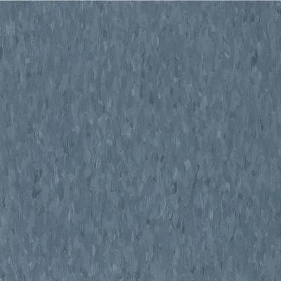 Imperial Texture VCT 12 in. x 12 in. Grayed Blue Limestone Standard Excelon Vinyl Tile (45 sq. ft. / case)