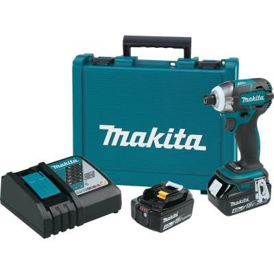 18-Volt LXT Lithium-Ion 1/4 in. Brushless Cordless Quick-Shift Mode 3-Speed Impact Driver Kit