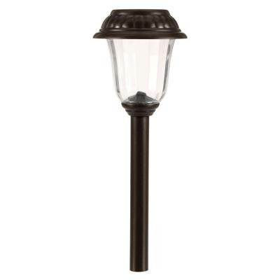 Solar Charcoal Brown LED Walk Light Set (10-Pack)