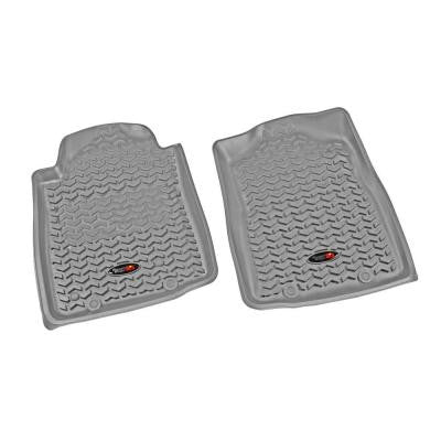 Floor Liner Front Pair Gray 2012-2013 Toyota Tacoma