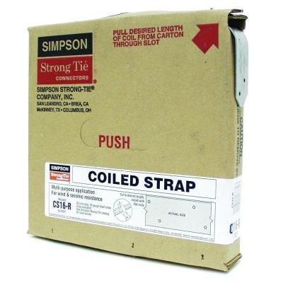 25 ft. 16-Gauge Coiled Strap