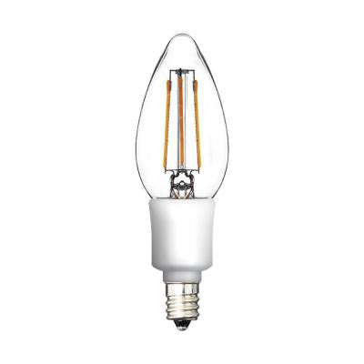 40W Equivalent Warm White B11 Blunt Tip Dimmable LED Light Bulb