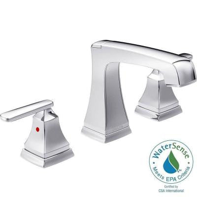 Ashlyn 8 in. Widespread 2-Handle High-Arc Bathroom Faucet in Chrome