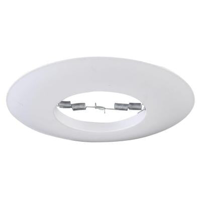 6 in. Line Voltage White Recessed Open Trim