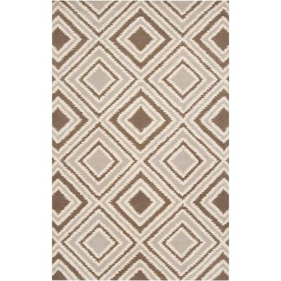 Portola Feather Gray 8 ft. x 11 ft. Area Rug