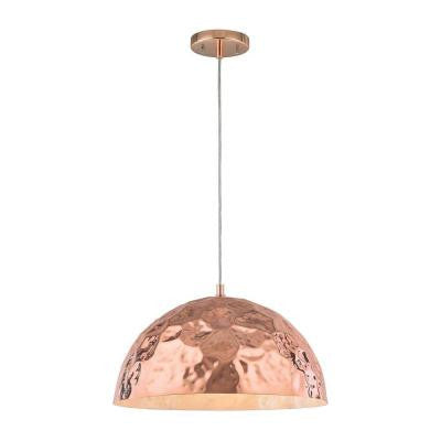 Hammersmith 1-Light Polished Copper Pendant