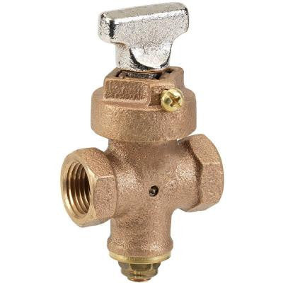 3/4 in. Ground Key Stop and Drain Valve