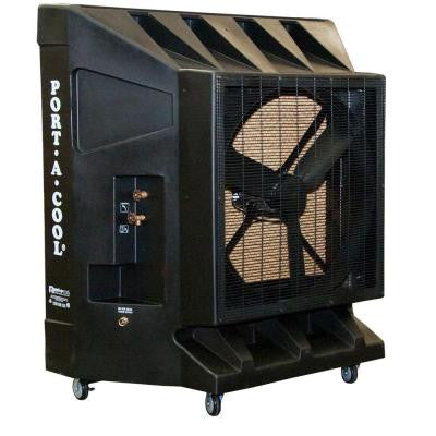 10100 CFM Variable Speed Portable Evaporative Cooler for 2650 sq. ft.
