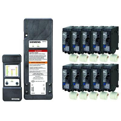 Siemens Arc-Fault Diagnostic Tool and 10-Units of 20 Amp Arc-Fault Circuit Breakers - Online Bundle Only