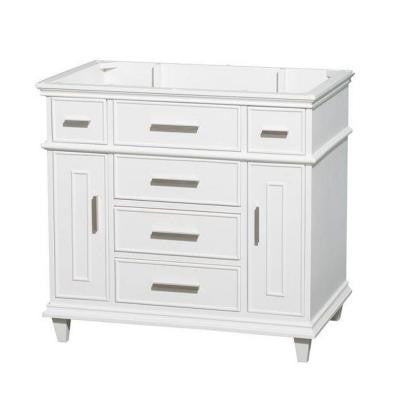 Berkeley 36 in. Vanity Cabinet Only in White