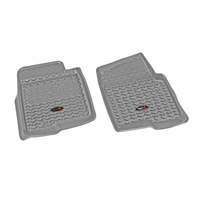 Floor Liner Front Pair Gray 2011-2013 Ford F150 All Cab