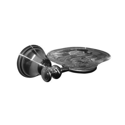 Triumph Series Soap Dish in Brushed Nickel